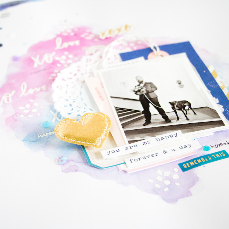Lovestory scatteredconfetti scrapbooking layout paperlesspages teaser2