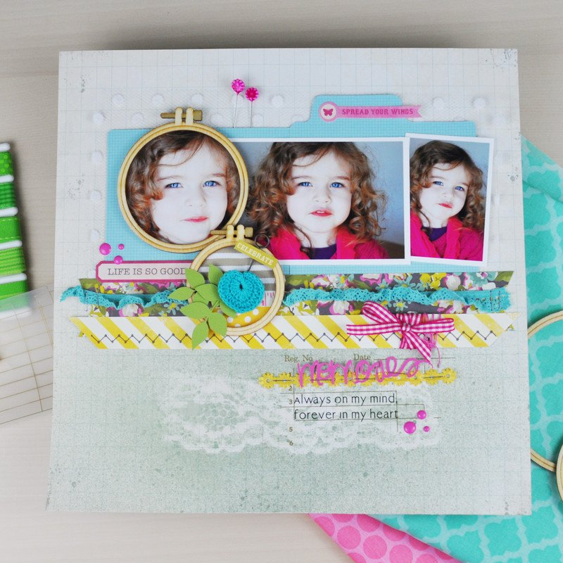 Memories layout 2 by jen gallacher