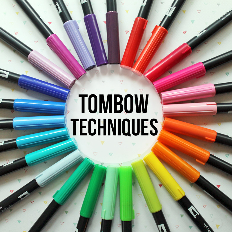 Tombow techniques main class photo