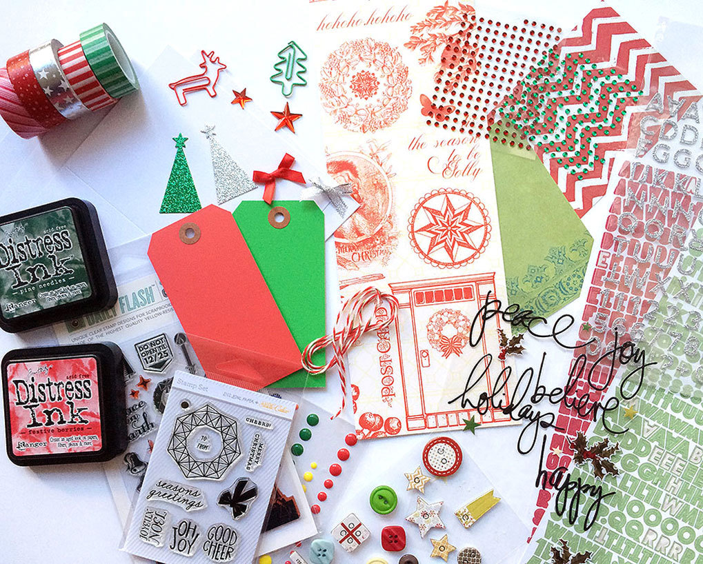 Big picture classes blog make a holiday card kit from your stash making kits from your stash makes your scrapbooking and cardmaking fast and fun you can learn all about how to make your own kits in my bpc class kits kristyandbryce Choice Image