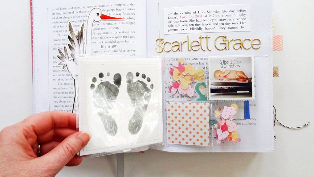 Picture 1 of Storybook Baby Album at Big Picture Classes