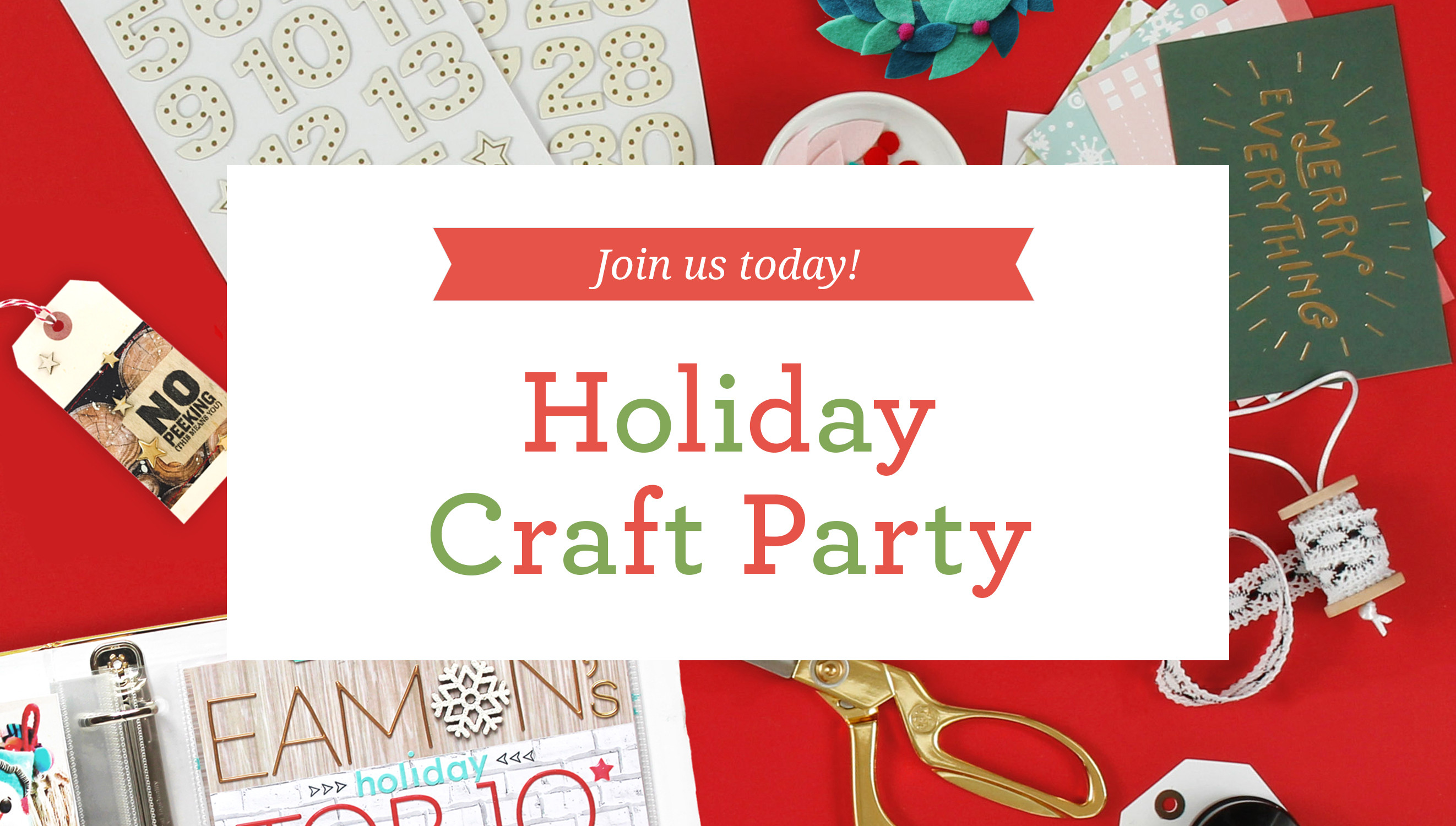 Picture 1 of Craft Party | Holiday 2015 at Big Picture Classes