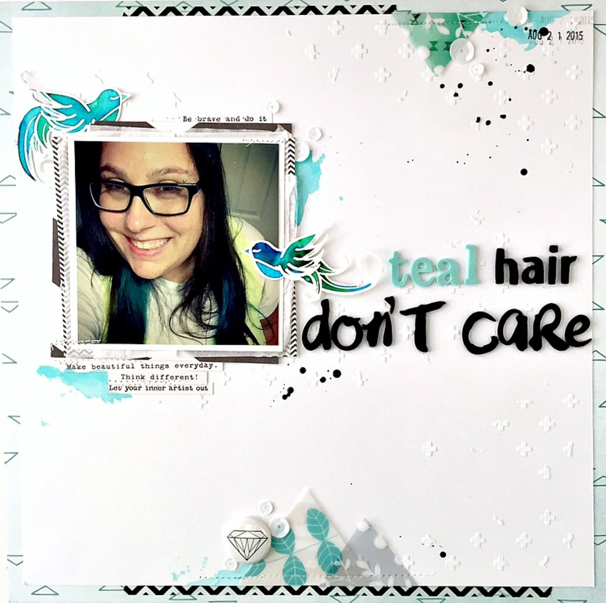 Teal hair don%2527t care layout   ls original