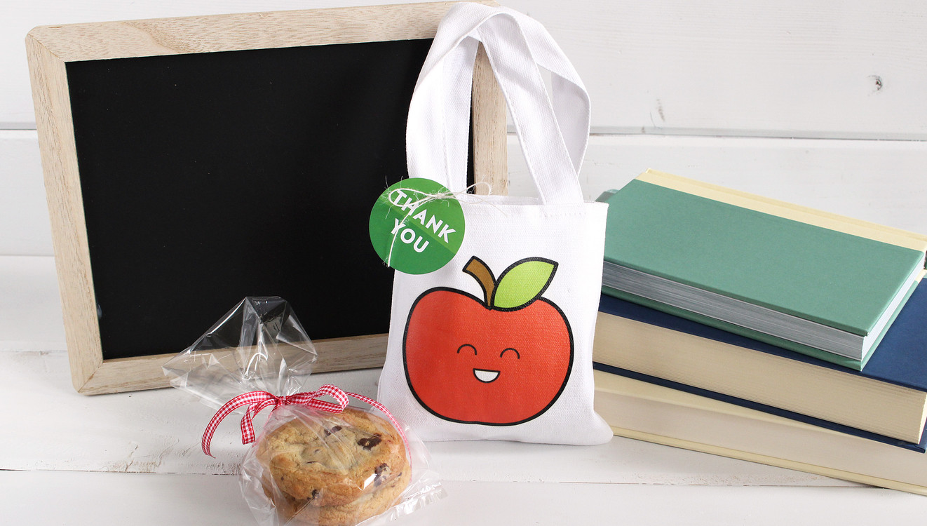 Small apple canvas bag original