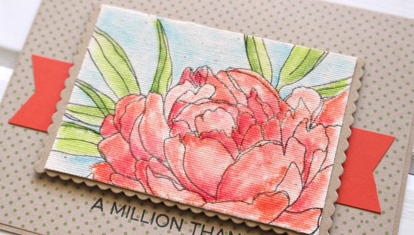 Canvas stamping original