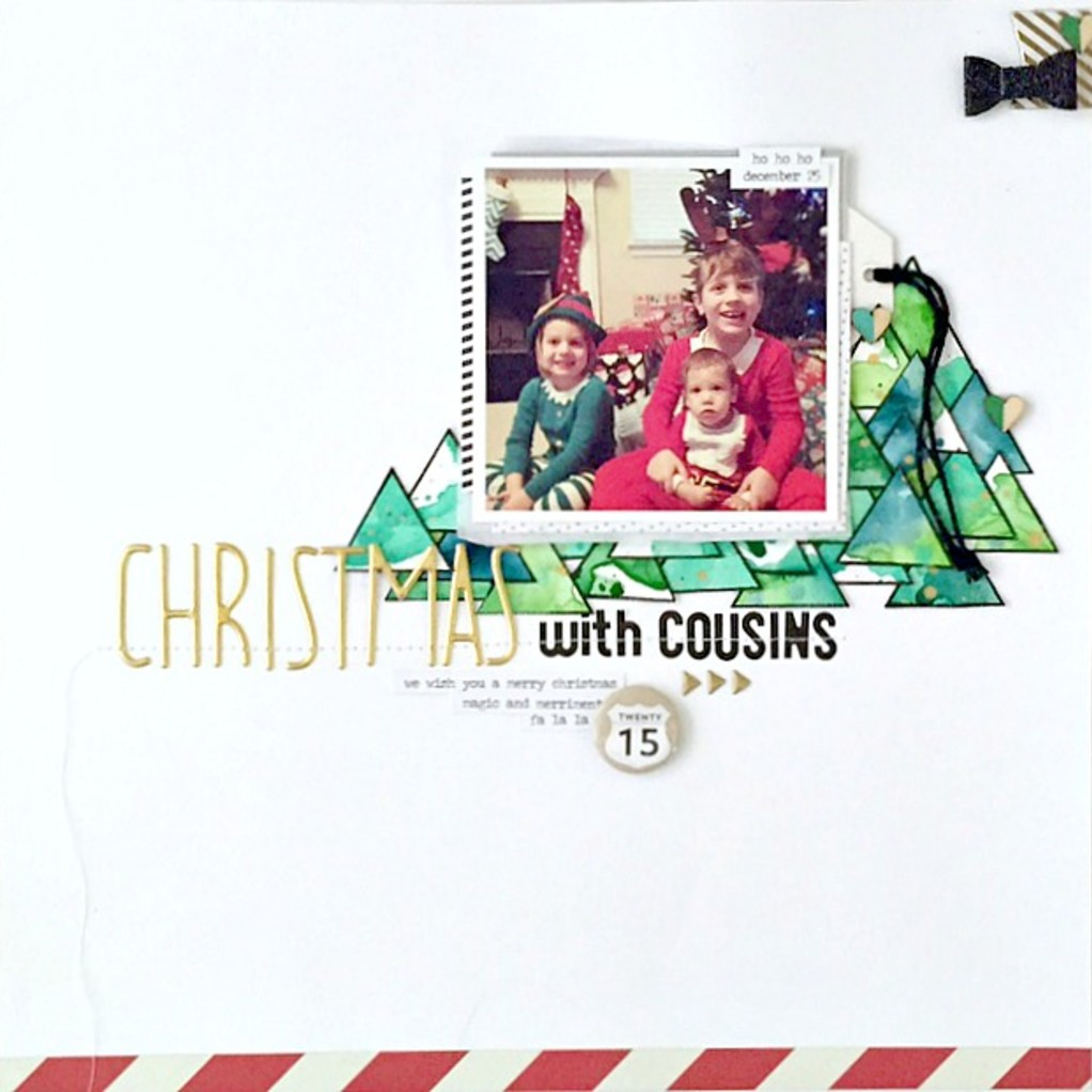 Christmas with cousins layout   lsx original