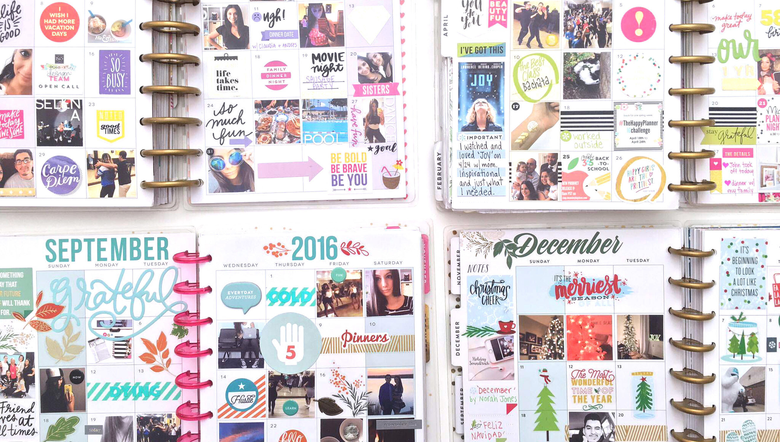 Picture 2 of Memory Keeping in The Happy Planner™ at Big Picture Classes