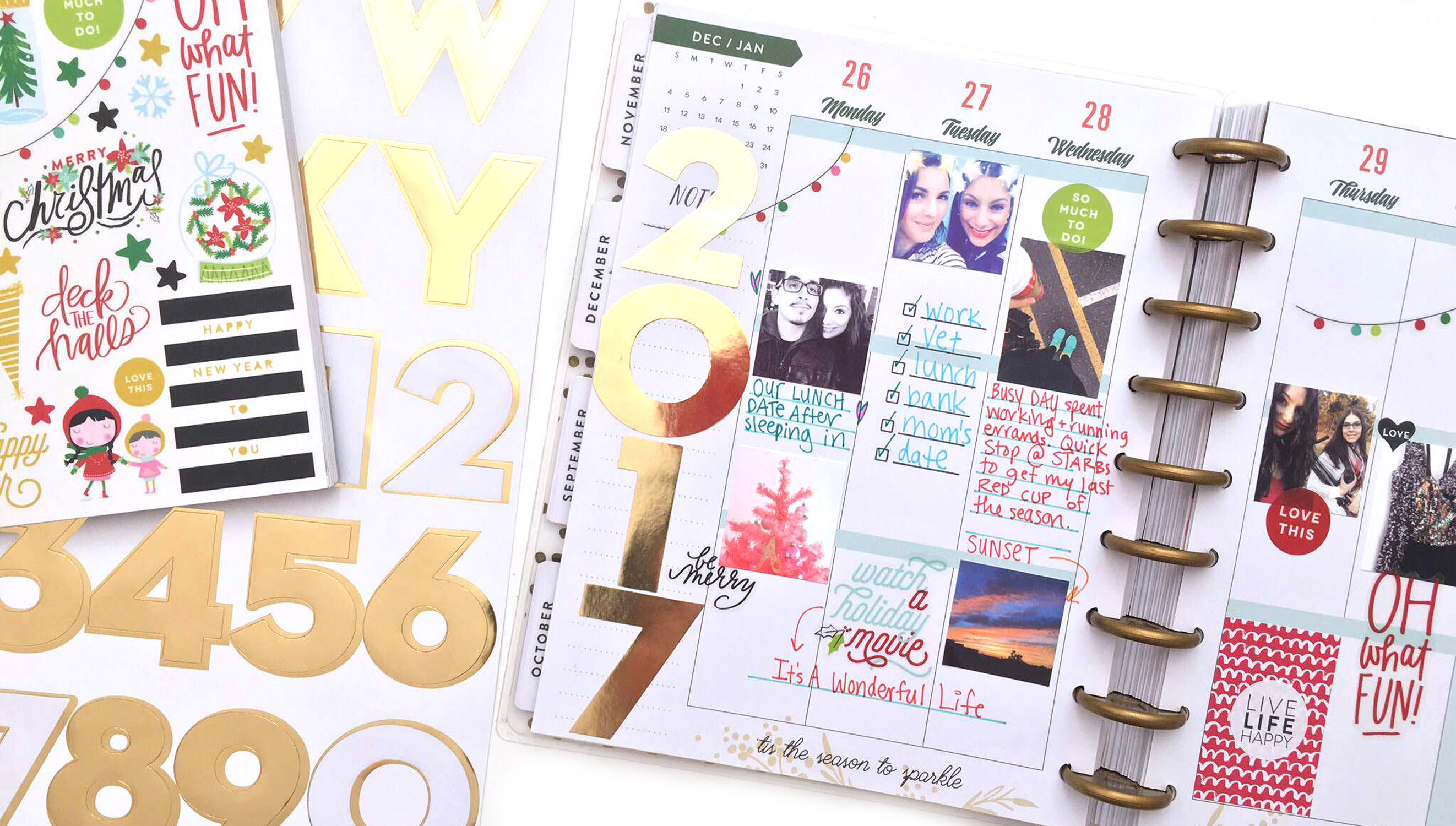Picture 3 of Memory Keeping in The Happy Planner™ at Big Picture Classes
