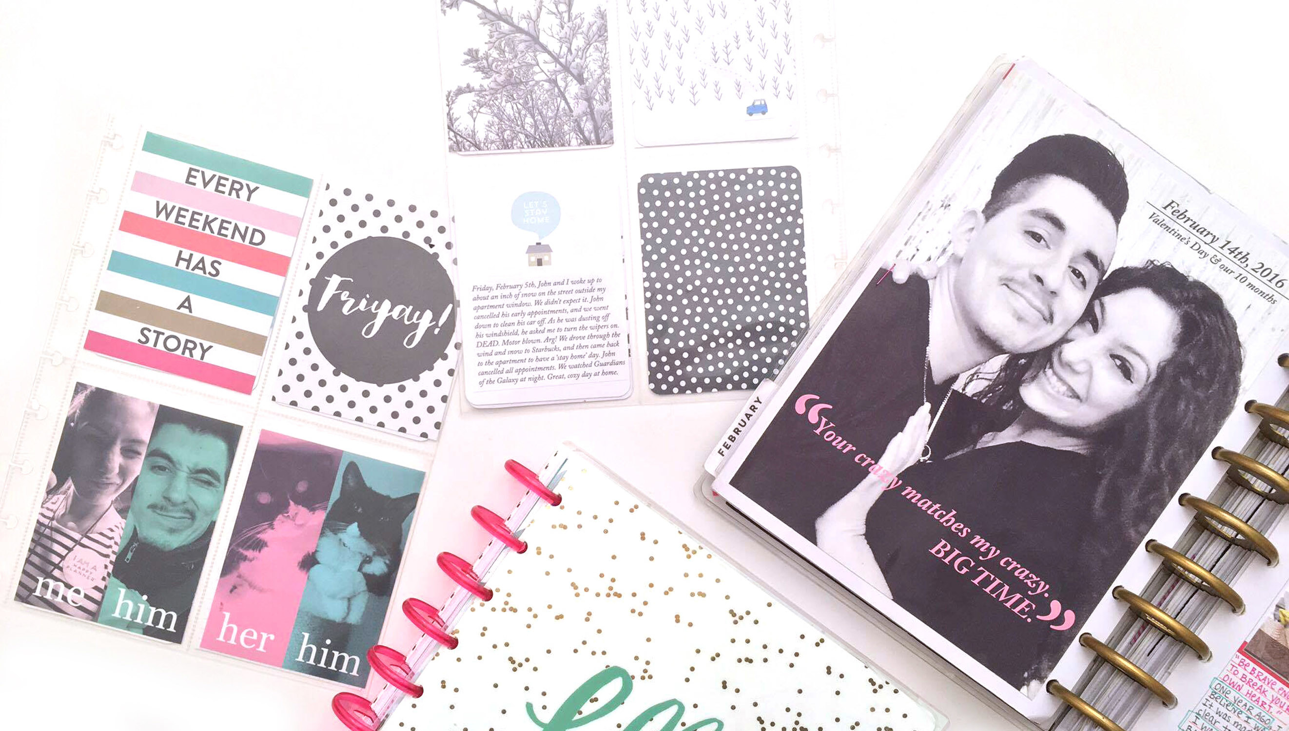 Picture 4 of Memory Keeping in The Happy Planner™ at Big Picture Classes