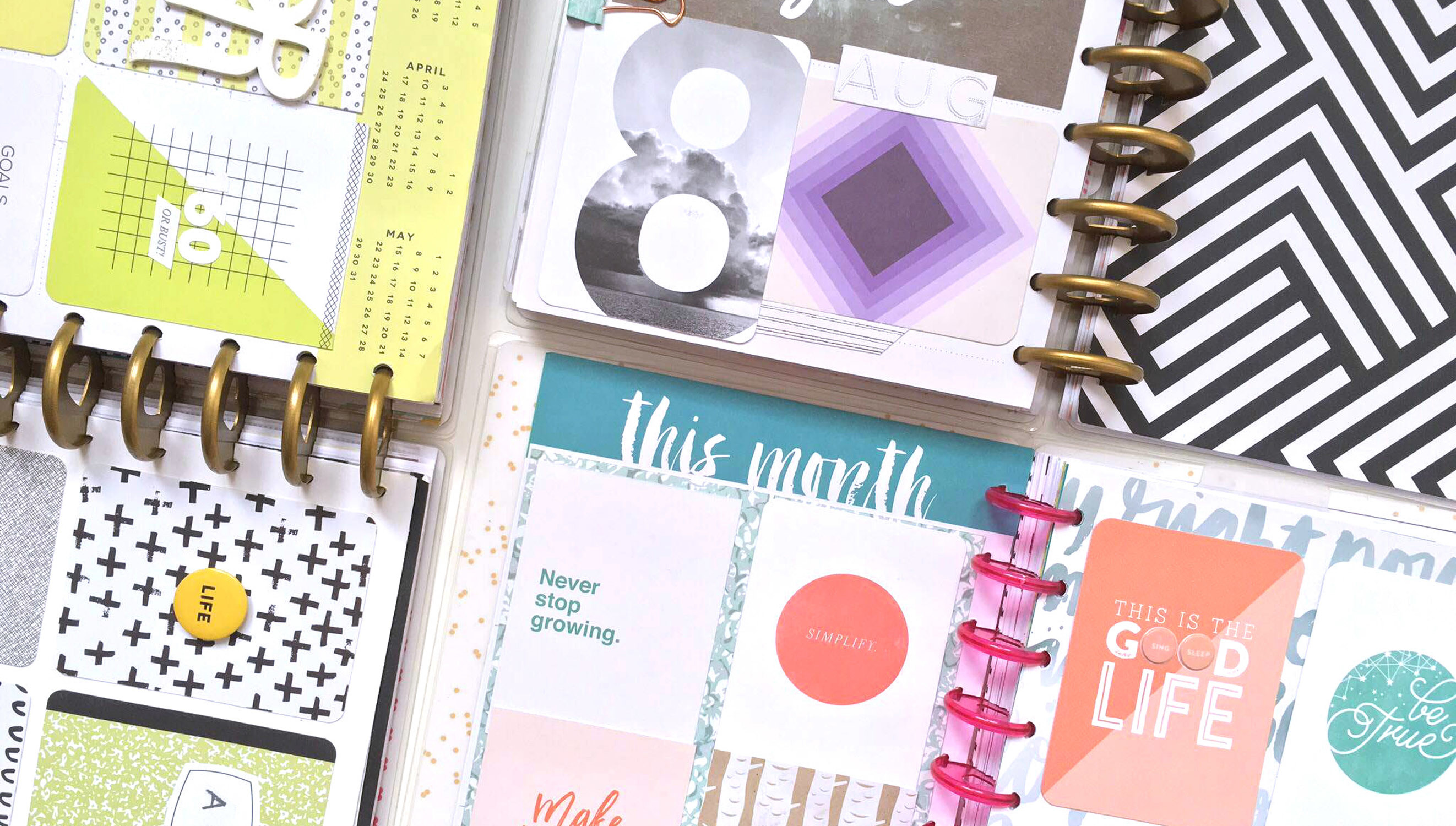 Picture 5 of Memory Keeping in The Happy Planner™ at Big Picture Classes