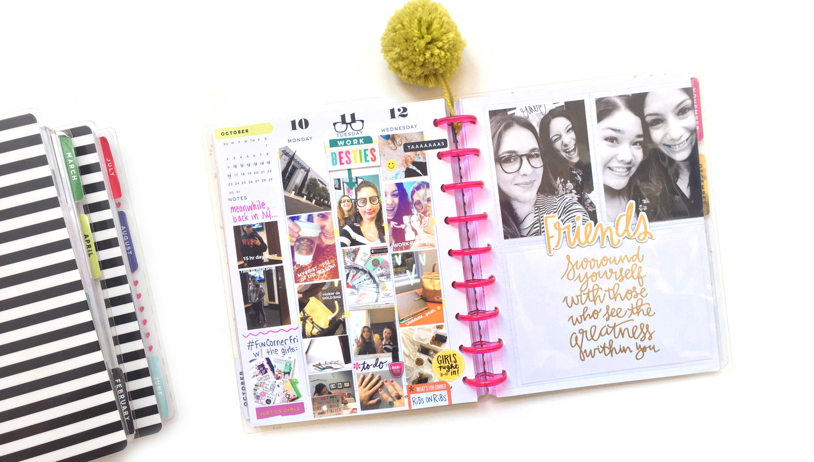 Picture 1 of Memory Keeping in The Happy Planner™ at Big Picture Classes