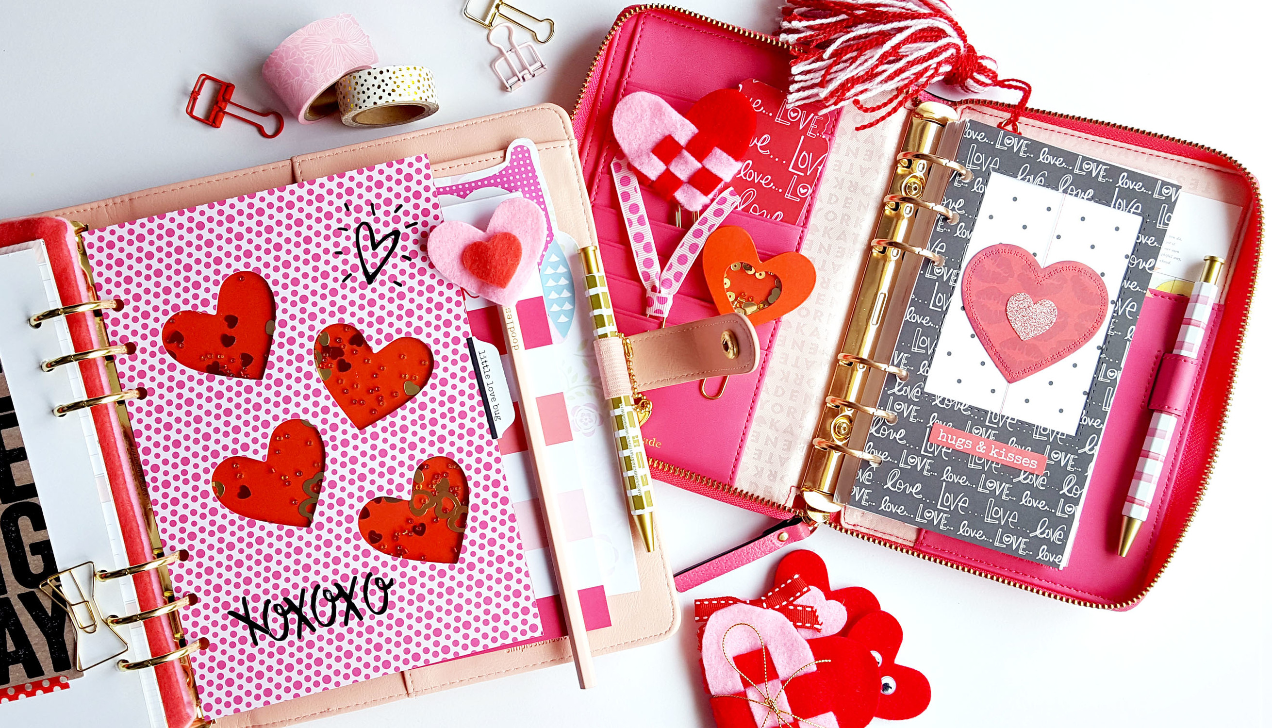 Picture 1 of Creative Planner Pages | Valentine's Day at Big Picture Classes
