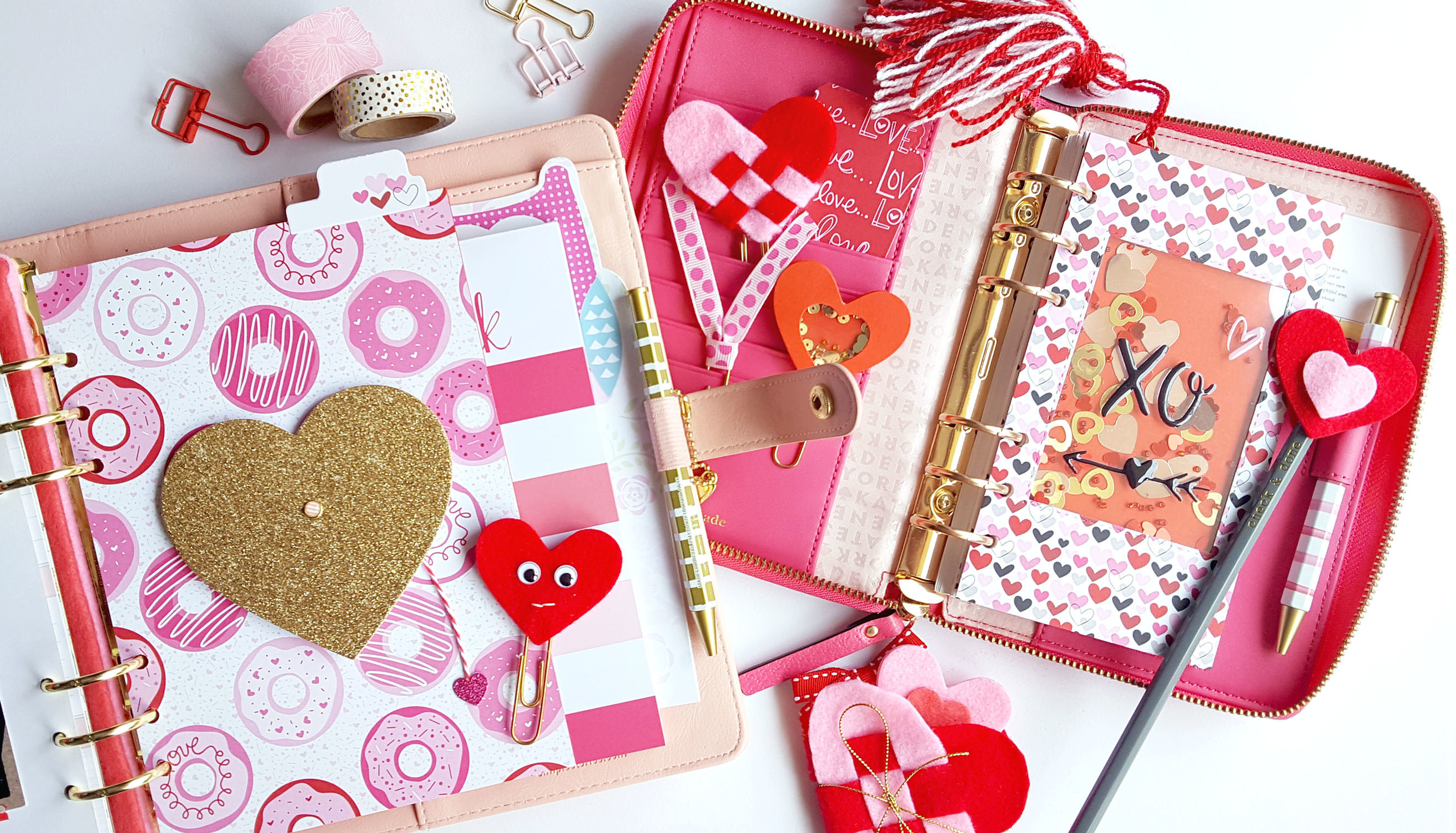 Picture 2 of Creative Planner Pages | Valentine's Day at Big Picture Classes