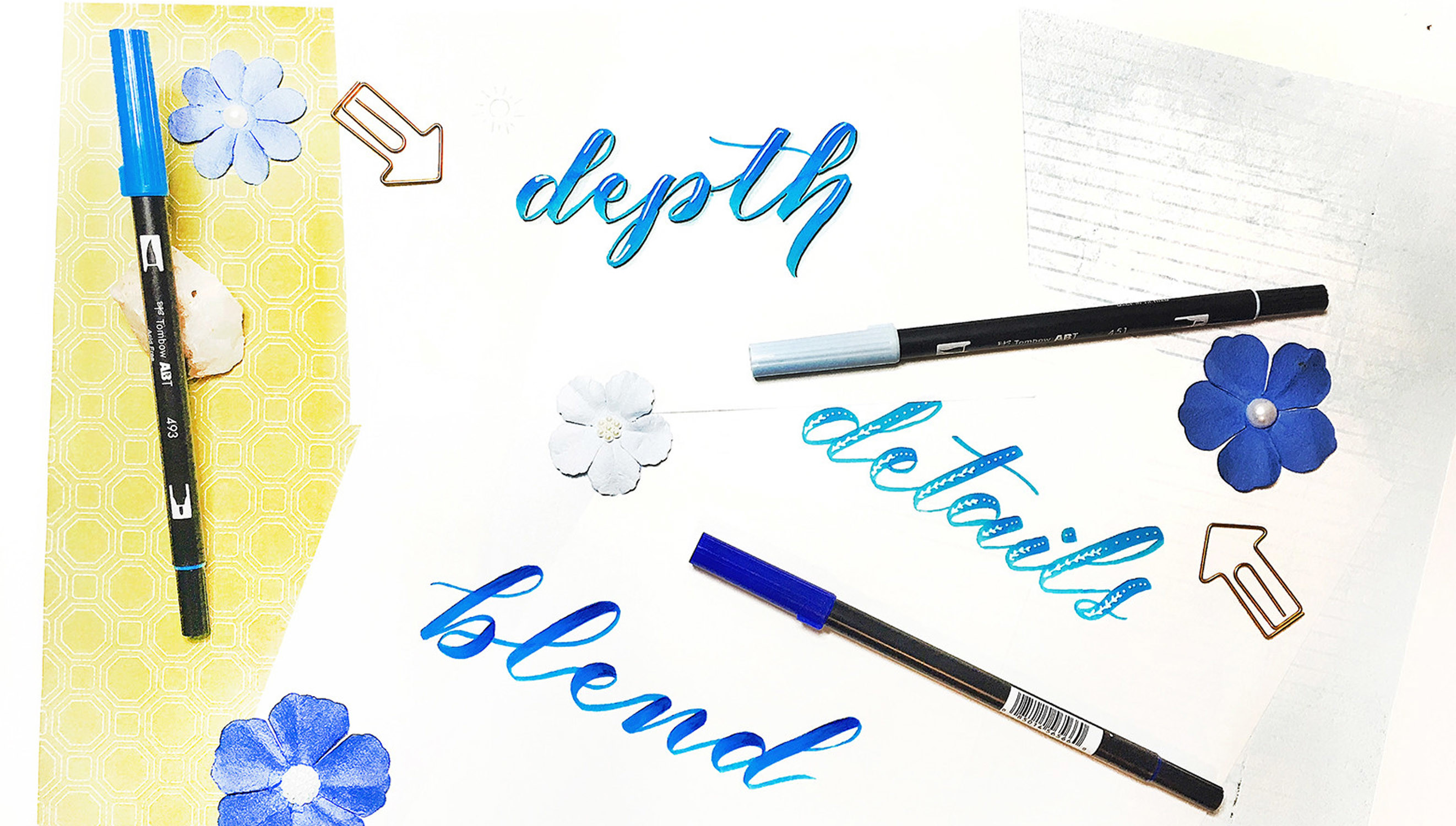 Picture 1 of Jumpstart Your Hand Lettering Journey at Big Picture Classes