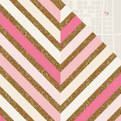 Gold glitter pattern specialty paper   image 1