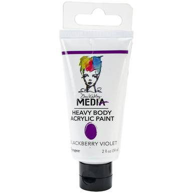 Dina wakley acrylic paints   blackberry violet   image 1