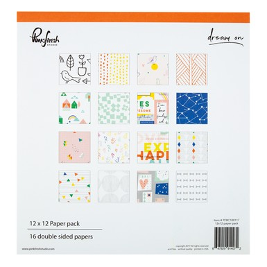 Bpc shop paper 12x12 dream on