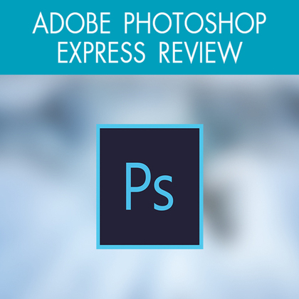 Adobe photoshop express review reg