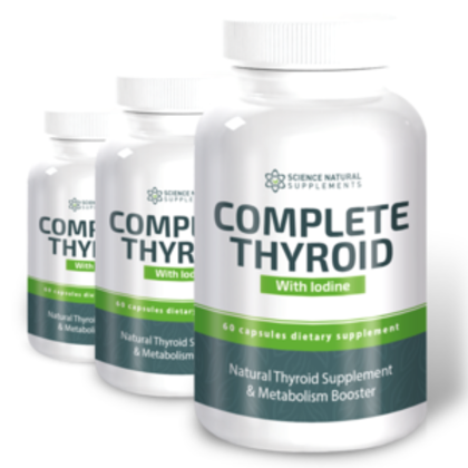 Complete thyroid with iodine review