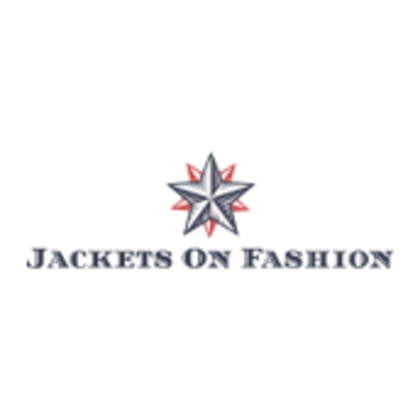 Jacket on fashion logo