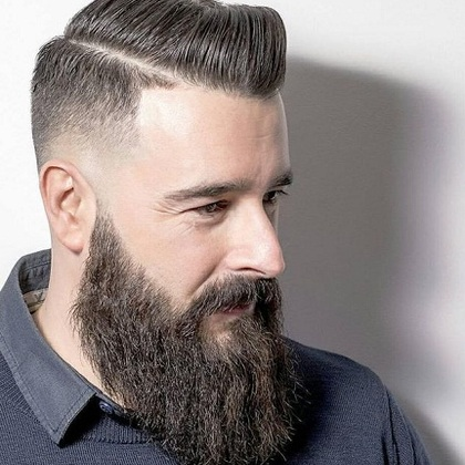 Long beard styles for men
