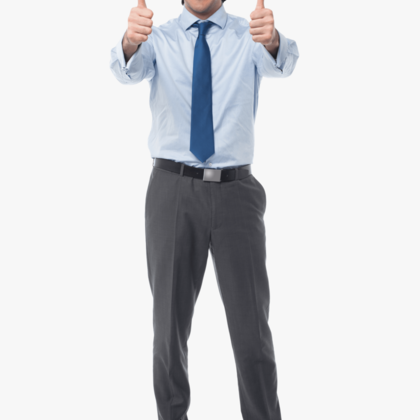 38 380764 man pointing png thumbs up man transparent background